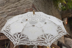 Lacy umbrella Royalty Free Stock Photo