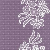 Lacy vintage background Royalty Free Stock Photos