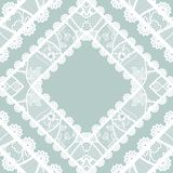 Lacy vintage background. Royalty Free Stock Photography