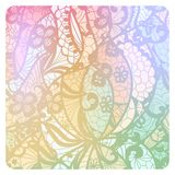 Lacy vintage background in soft colors. Stock Photo