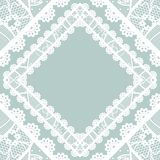 Lacy vintage background. Stock Photos