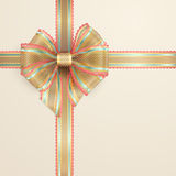 Lacy vintage bow Stock Photography