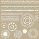 Lacy Vintage Design Elements Royalty Free Stock Image