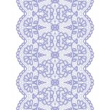 Lacy vintage trim. Gentle lacy vintage elegant trim. Vector illustration Royalty Free Stock Photography