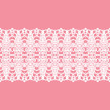 Lacy vintage trim. Royalty Free Stock Image