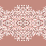 Lacy vintage trim. Royalty Free Stock Photography