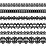 Lacy vintage trims. Stock Photos