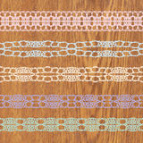 Lacy vintage trims. Royalty Free Stock Photos