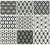 Lacy wallpaper set Stock Photography