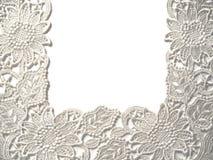 lacy white Zdjęcie Stock