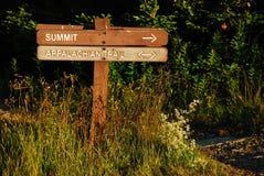 Ślad Mt Greylock szczyt Fotografia Royalty Free