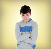 Lad of thirteen Stock Images