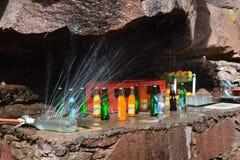 Ślad toubkal od Marrakech w Maroko Afryka Pólnocna Zdjęcia Stock