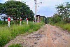 Ślad w Chiapas, Meksyk Obraz Royalty Free