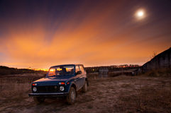 Lada 4x4 Niva Royalty Free Stock Photos