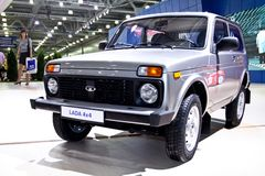 Lada 4x4 Niva Royalty Free Stock Photography