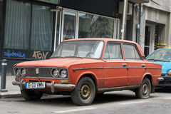 Lada car Stock Photo