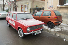 Lada  car Royalty Free Stock Image