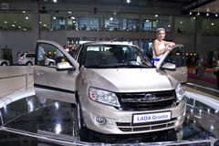 LADA Granta Stock Photo