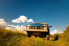 Lada Niva Royalty Free Stock Photography