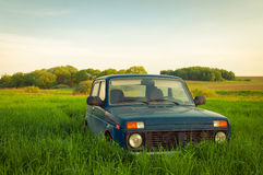 Lada Niva Stock Photo
