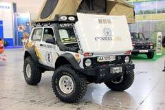 Lada Niva 4x4 jeep Royalty Free Stock Photo
