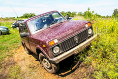 Lada Niva Royalty Free Stock Photos