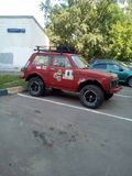 LADA Niva photographie stock