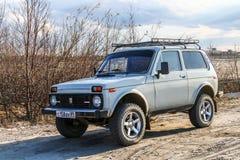Lada Niva Royalty Free Stock Photography