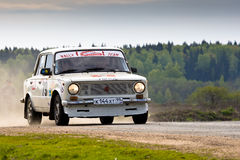 Lada at Russian rally Stock Image
