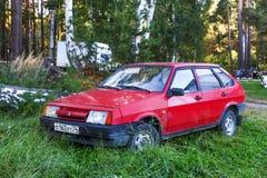 Lada 2109 Samara Obrazy Royalty Free