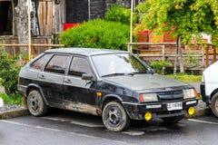 Lada Samara arkivbild