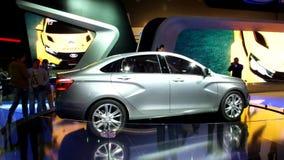 Lada Vesta на подиуме видеоматериал