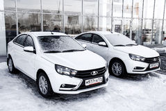 Lada Vesta Royalty Free Stock Images