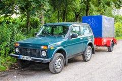Lada 4x4 Royaltyfri Bild