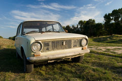 Lada (Zhiguli) Stock Photo