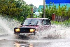 Lada 2107 Zhiguli Zdjęcie Stock
