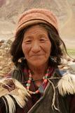 ladakh妇女 免版税库存照片