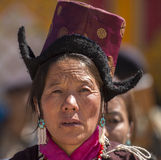 Ladakh妇女 库存图片