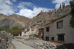 ladakh村庄 库存图片