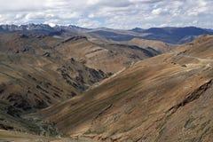 ladakh δρόμος βουνών Στοκ εικόνες με δικαίωμα ελεύθερης χρήσης
