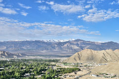 Ladakh και βουνά Στοκ φωτογραφίες με δικαίωμα ελεύθερης χρήσης