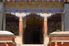 ladakh Индии hemis gompa стоковое изображение