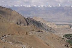 Ladakh. Amazing Himalaya view in Zanskar stock images