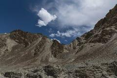 Ladakh berglandskap Arkivfoto