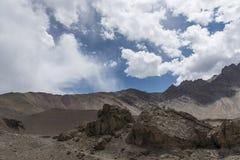 Ladakh berglandskap Royaltyfria Foton