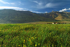 ladakh blisko padum miasteczka doliny Fotografia Royalty Free