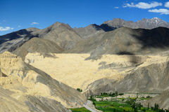 Ladakh en la India Fotografía de archivo libre de regalías
