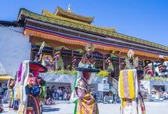 The Ladakh festival 2017 Royalty Free Stock Photography