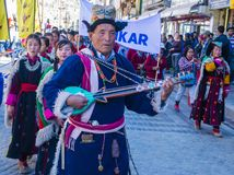 The Ladakh festival 2017 Royalty Free Stock Photos